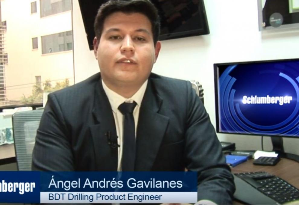 Angel Andrés Gavilanes – BDT Drilling Product Engineer Schlumberger