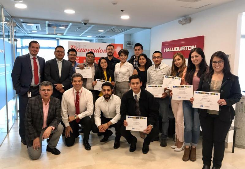 "Halliburton impartió Workshop ""How to write good Technical Papers"""